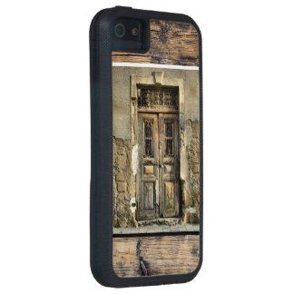 Mi puerta de madera vieja iPhone 5 Case-Mate carcasas