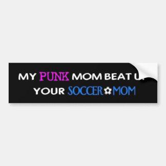 Mi punk Mom2 Pegatina De Parachoque