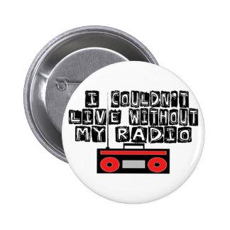 Mi radio pin redondo de 2 pulgadas