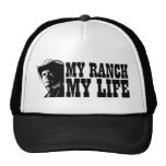 Mi rancho mi vida, regalo para un granjero o ranch gorras