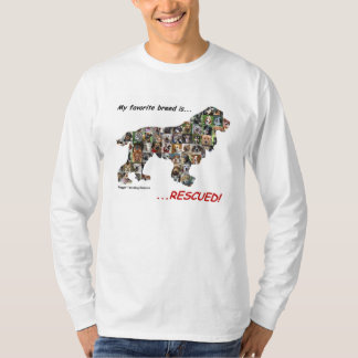 Mi raza preferida es camisa rescatada