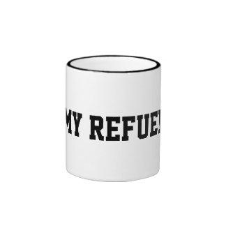 Mi reaprovisione la taza de café de combustible