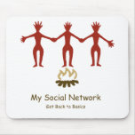 Mi red social alfombrilla de raton