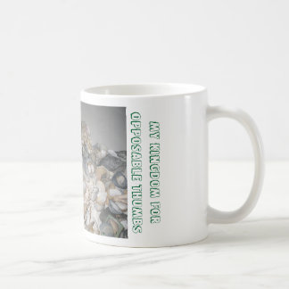 Mi reino para la taza oponible de los pulgares