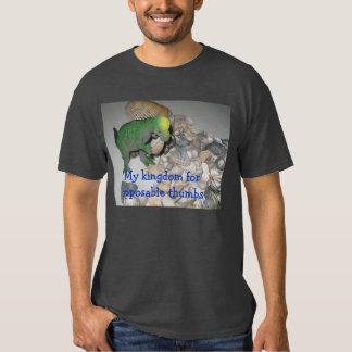 Mi reino para los pulgares oponibles remeras