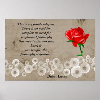 Mi religión simple impresiones