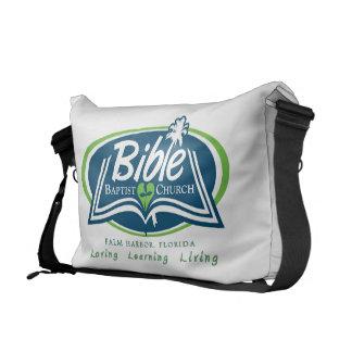 Mi ropa del Bautista de la biblia de la Florida Bolsa De Mensajeria