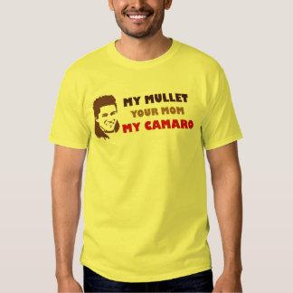 Mi salmonete su mamá mi Camaro Camisas