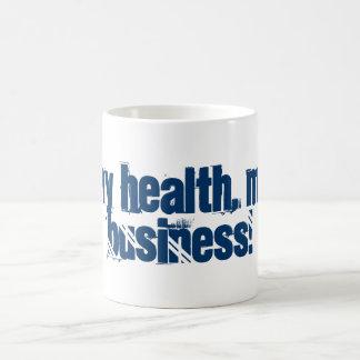 ¡Mi salud, mi negocio! Taza Clásica