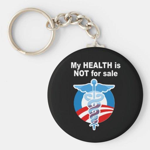 Mi salud no está para la venta llavero personalizado