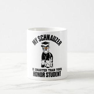 Mi Schnauzer es más elegante que su estudiante del Tazas