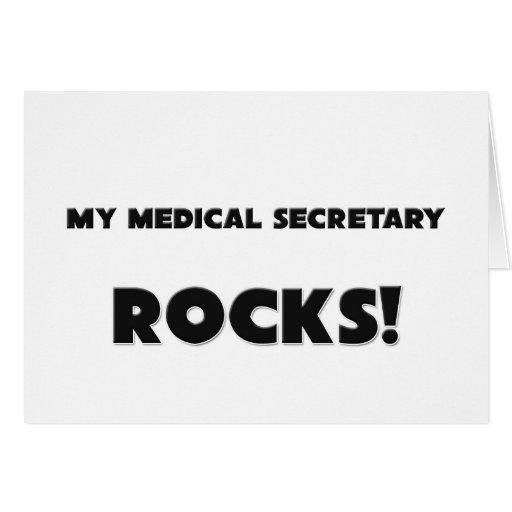 ¡MI secretaria médica ROCKS! Felicitacion