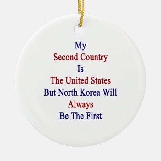 Mi segundo país es los Estados Unidos pero K del n Adorno