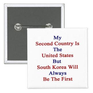 Mi segundo país es los Estados Unidos pero K del s Pin
