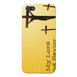Mi señor y salvador iPhone 5 carcasa