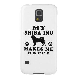 Mi Shiba Inu me hace feliz Carcasa De Galaxy S5