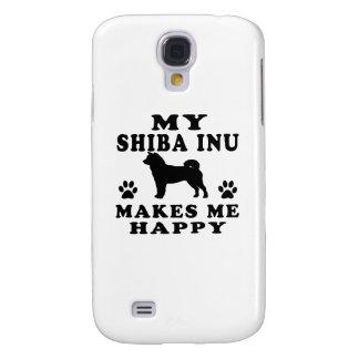 Mi Shiba Inu me hace feliz Funda Para Galaxy S4