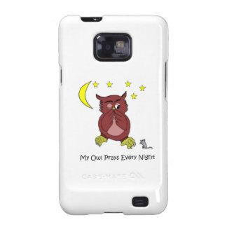 Mi SII de la galaxia de Samsung del búho Samsung Galaxy S2 Funda