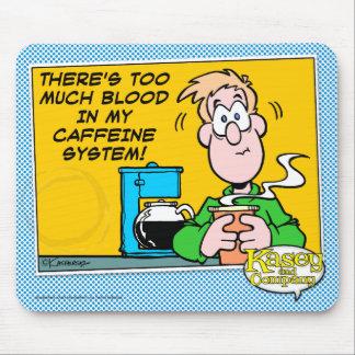 Mi sistema del cafeína alfombrillas de raton