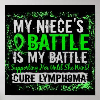 Mi sobrina del linfoma demasiado 2 de la batalla póster