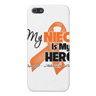 Mi sobrina es mi héroe - leucemia iPhone 5 cobertura