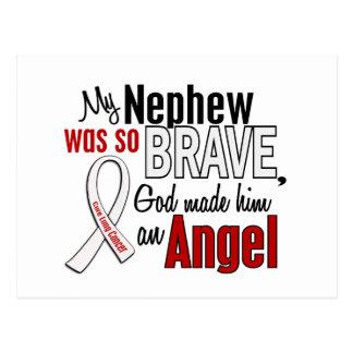 Mi sobrino es un cáncer de pulmón del ángel postales