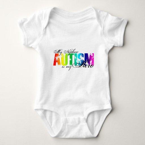 Mi sobrino mi héroe - autismo body para bebé