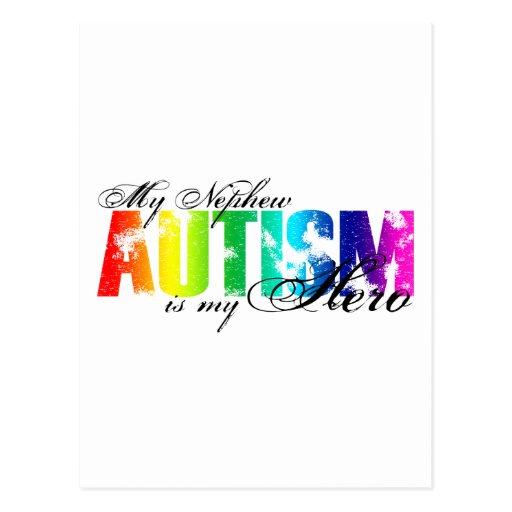 Mi sobrino mi héroe - autismo postal