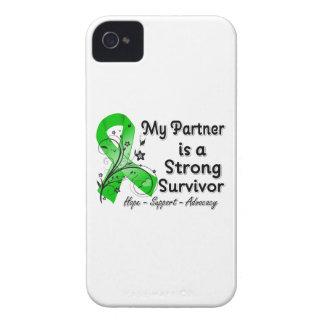Mi socio es una cinta fuerte del verde del supervi iPhone 4 protectores