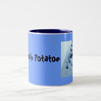 Mi sofá Potatoe Taza De Café De Dos Colores