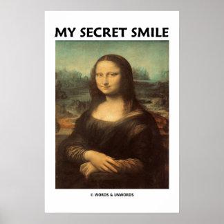 Mi sonrisa secreta (Mona Lisa de da Vinci) Impresiones
