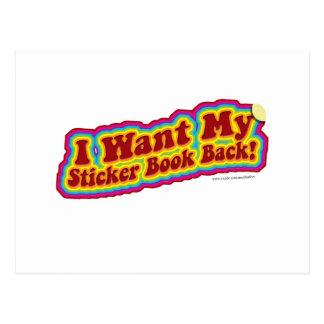 Mi Stickerbook Postal