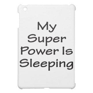 Mi superpoder está durmiendo