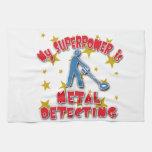 Mi superpotencia es detección del metal toallas de cocina