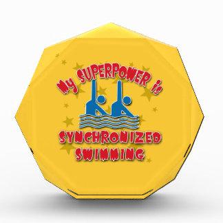 Mi superpotencia es natación sincronizada