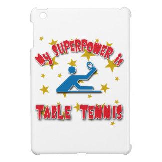 Mi superpotencia es tenis de mesa