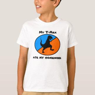 Mi T-Rex comió mi preparación Camisas
