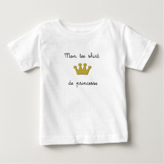 Mi t - shirt de princesa camisas