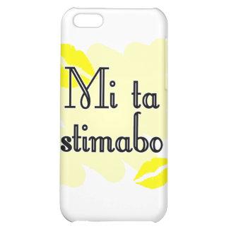 Mi ta stimabo - Papiamento I love you iPhone 5C Covers