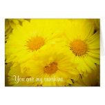 Mi tarjeta de felicitación de la sol