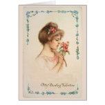 Mi tarjeta de felicitación querida de la tarjeta d