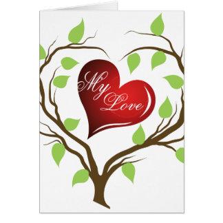 Mi tarjeta de la tarjeta del día de San Valentín