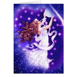 Mi tarjeta del amor de la estrella