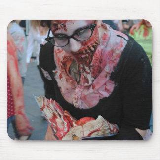 Mi tarjeta del día de San Valentín del zombi Alfombrilla De Ratones