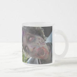 Mi tarjeta del día de San Valentín del zombi Taza De Cristal