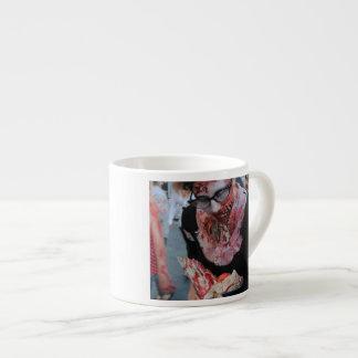 Mi tarjeta del día de San Valentín del zombi Taza Espresso