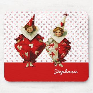 Mi tarjeta del día de San Valentín divertida. Alfombrillas De Ratones