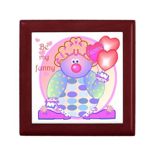 Mi tarjeta del día de San Valentín divertida Caja De Joyas