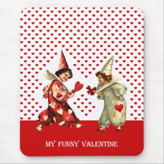 Mi tarjeta del día de San Valentín divertida. Tapete De Ratón