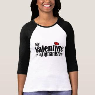 Mi tarjeta del día de San Valentín está en Afganis Camiseta